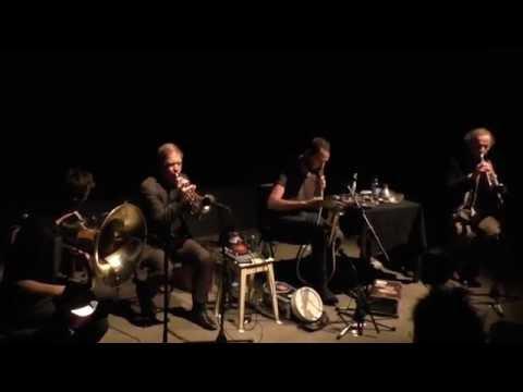 Ariha Brass Quartet @ festival Akouphène 2015, Cave 12, Geneva