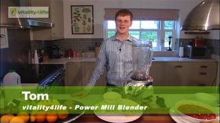 Vitality4life - Power Mill  Blender - Hot Soup