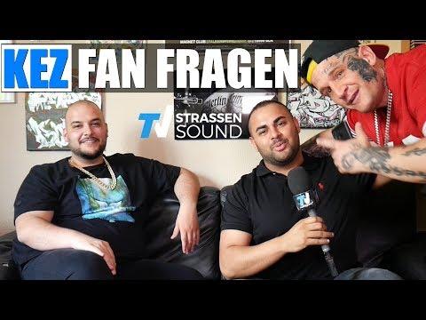 KEZ Fan Fragen | Haftbefehl, MC Bogy Feature, Sido, KKS, Manuellsen etc. | TV Strassensound
