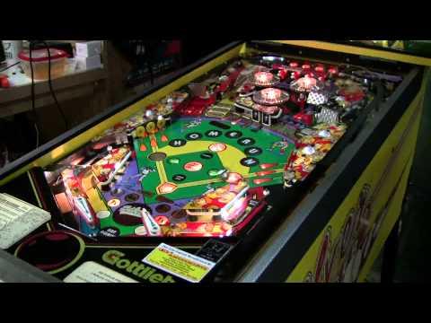 #347 Gottlieb SILVER SLUGGER Pinball Machine - Our 17th Sold! TNT Amusements