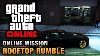 GTA 5 Online - FARMING ROOFTOP RUMBLE
