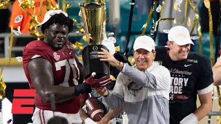 Is Alabama's dominance good for college football?   Keyshawn, JWill & Zubin