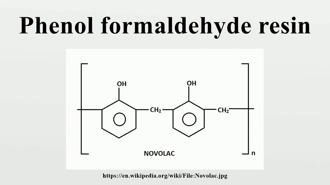 Phenol Formaldehyde Resin Youtube