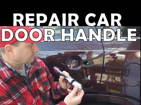 How to Repair a Car Door Handle Kia Hyundai