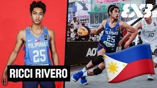 Ricci Rivero - The Philippines Rising 3x3 Star - Mixtape Monday