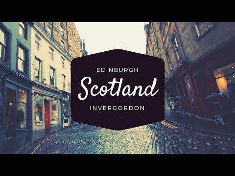 Traveling to Scotland! A Oceania Cruise travel montage in Edinburgh and Invergordon