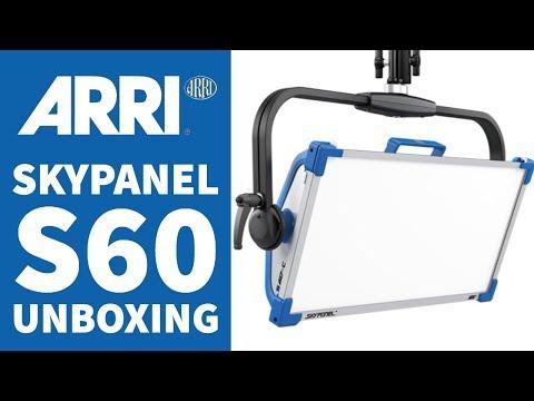 ARRI Skypanel S60 Unboxing & How to Setup: Best LED Light
