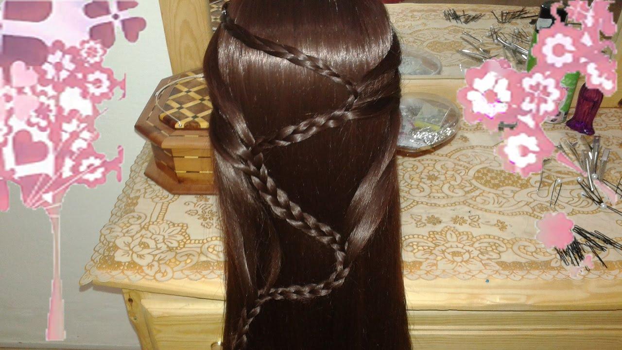 Bonitos Peinados Con Trensas Y Pelo Suelto