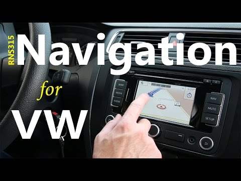 VW Navigation System Blowout..... RNS 315 DIY Install