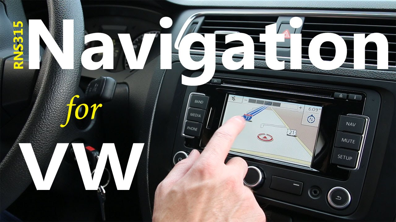 VW Navigation System Blowout      RNS 315 DIY Install