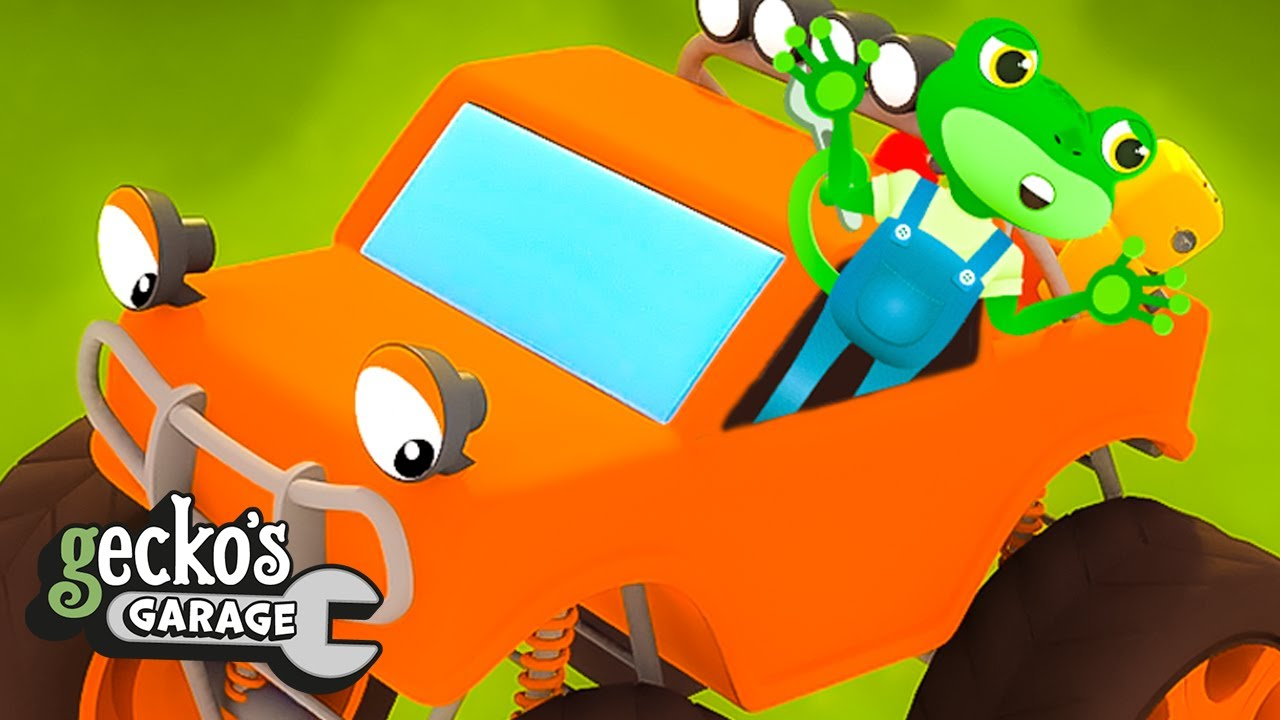 Max the Monster Truck! - Educational Videos for Kids