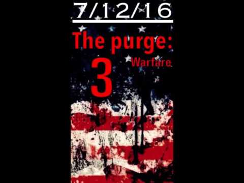 The purge 3 release date announced