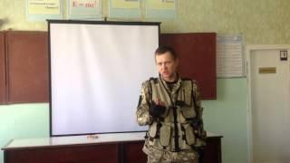 Урок мужності в Сєвєродонецькій школі. Боєць батальйону