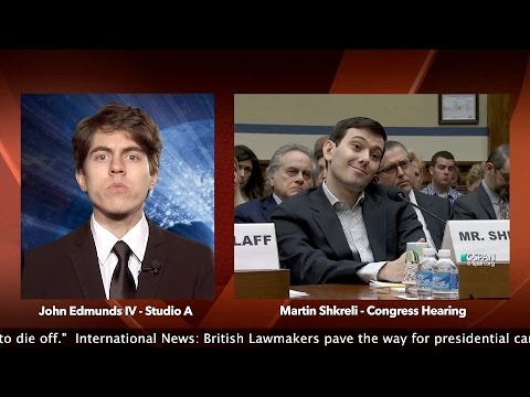 Most Hated Man in America - Martin Shkrelli - My Minute Minute