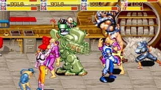 Captain Commando 4 Players All