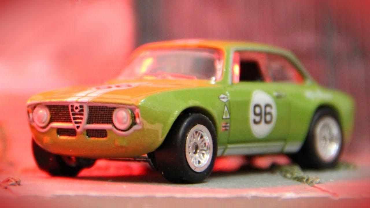 Hot Wheels Alfa Romeo Giulia Sprint GTA - Car Culture