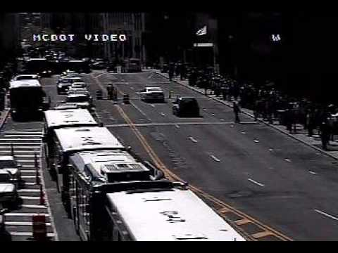 RTS: Rochester New York Bus Re-Route Over Broad Street Bridge