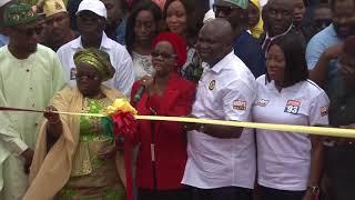 LAGOS GOVT UNVEILS GIANT MKO ABIOLA STATUE