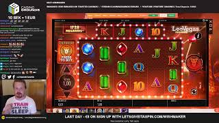 LIVE CASINO GAMES - LAST day for !giveaway in Rhino Megaways 😱 (01/07/19)