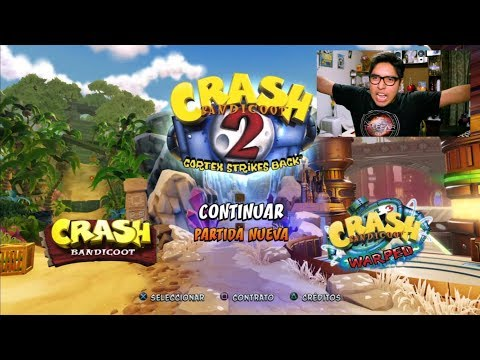Trucos en Crash 2 | CRASH BANDICOOT N. Sane Trilogy  PS4  Game Play en Español