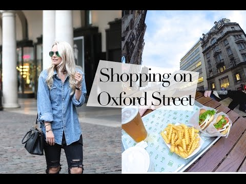 VLOG : Shopping on Oxford Street