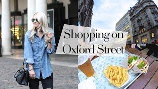VLOG : Shopping on Oxford Street