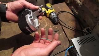 Как зарядить аккумулятор от шуруповёрта без родного зарядного