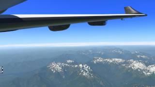Tillamook, OR to Port Angeles WA |  XP11 XENVIRO PC-12