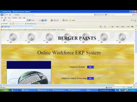 Online Work Force Management ERP System - ASP.NET With C# Projects