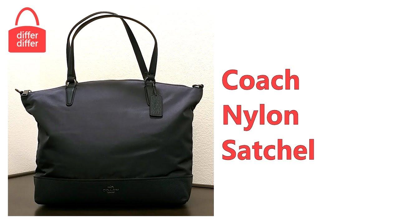 Coach Nylon Satchel 57902