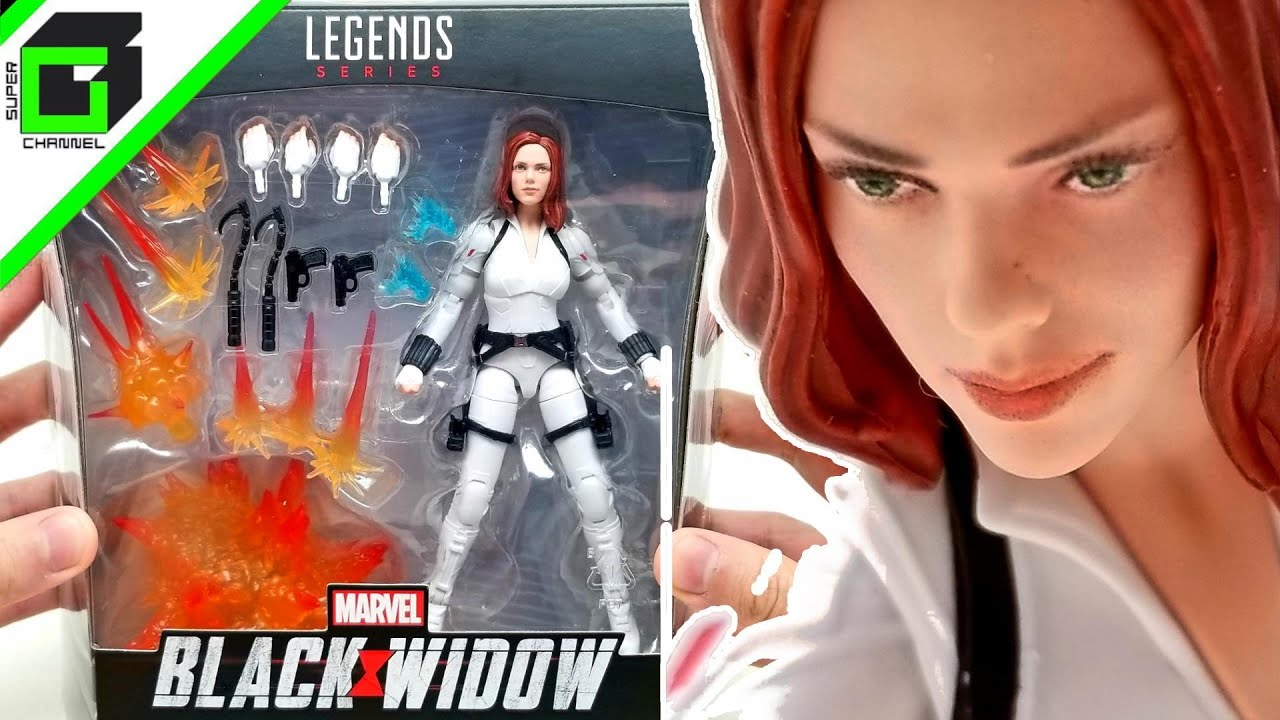 Download BLACK WIDOW - Marvel Legends Deluxe Action Figure by Hasbro CRIMSON DYNAMO Build-a-Figure Unboxing!