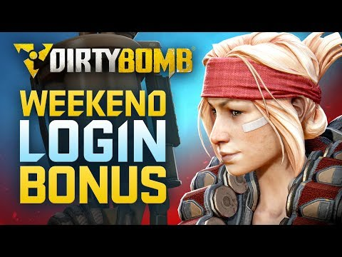 Dirty Bomb: Weekend Login Bonus