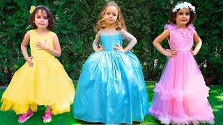 Детская песня - День рождения Майи. Принцессы как в мультике