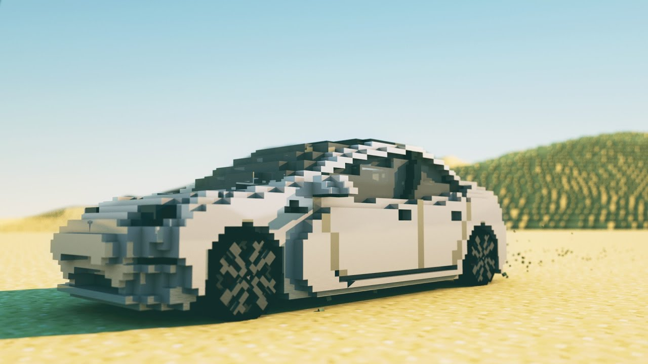 Tesla Meets Minecraft