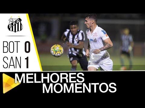 Botafogo 0 x 1 Santos | MELHORES MOMENTOS | Brasileirão (14/09/16)