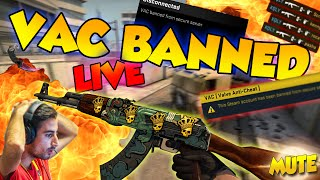 CS:GO - HACKERS VAC BANNED LIVE!!!