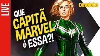 Que Capitã Marvel é essa!?   OmeleTV AO VIVO