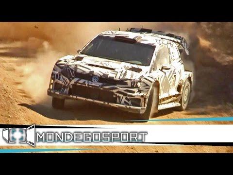 Test VW Motorsport Jari Matti Latvala POLO WRC 2017 Arganil FLAT OUT, ACTION, SPEED FULL HD