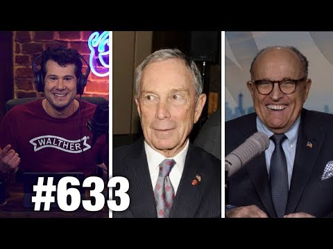#633 BLOOMBERG GETS WRECKED | Rudy Giuliani Guests | Louder With Crowder