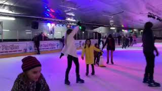 Amber-Rose Ice skating Planet Ice