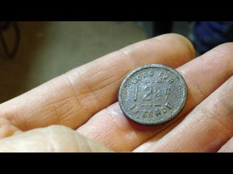 Killer token found at historic house.