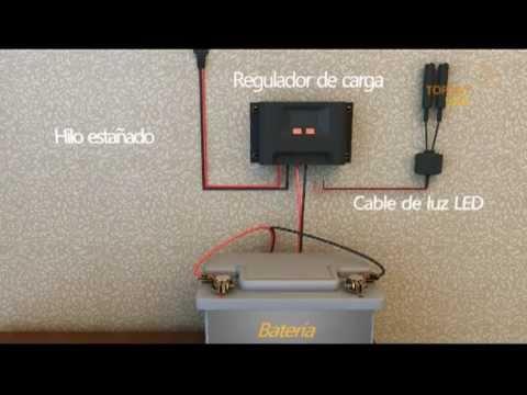 Instalacion paneles solares youtube for Montar placas solares en casa