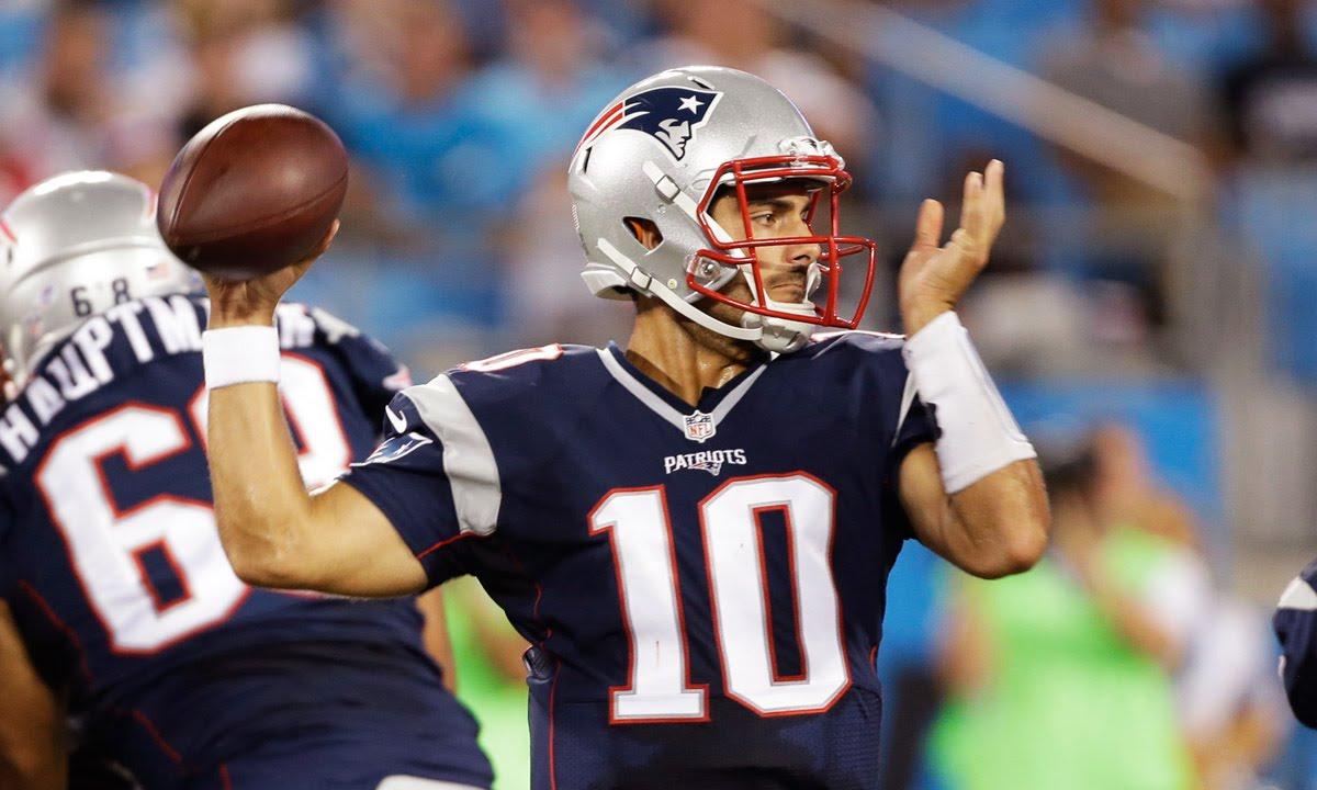 Jimmy Garoppolo highlights - 2015 NFL Preseason Week 3 ... Jimmy Garoppolo Patriots Highlights