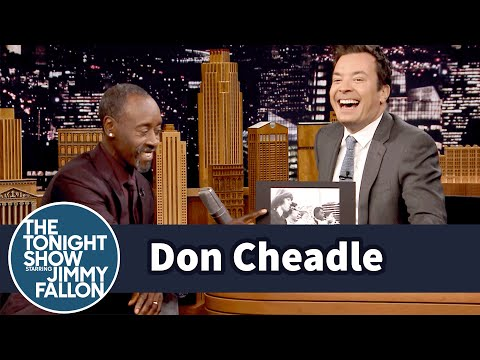 Jimmy Flips Through Don Cheadle's High School Yearbook