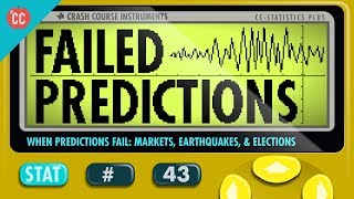 Crash Course: Statistics: Why We Can't Predict Earthquakes thumbnail