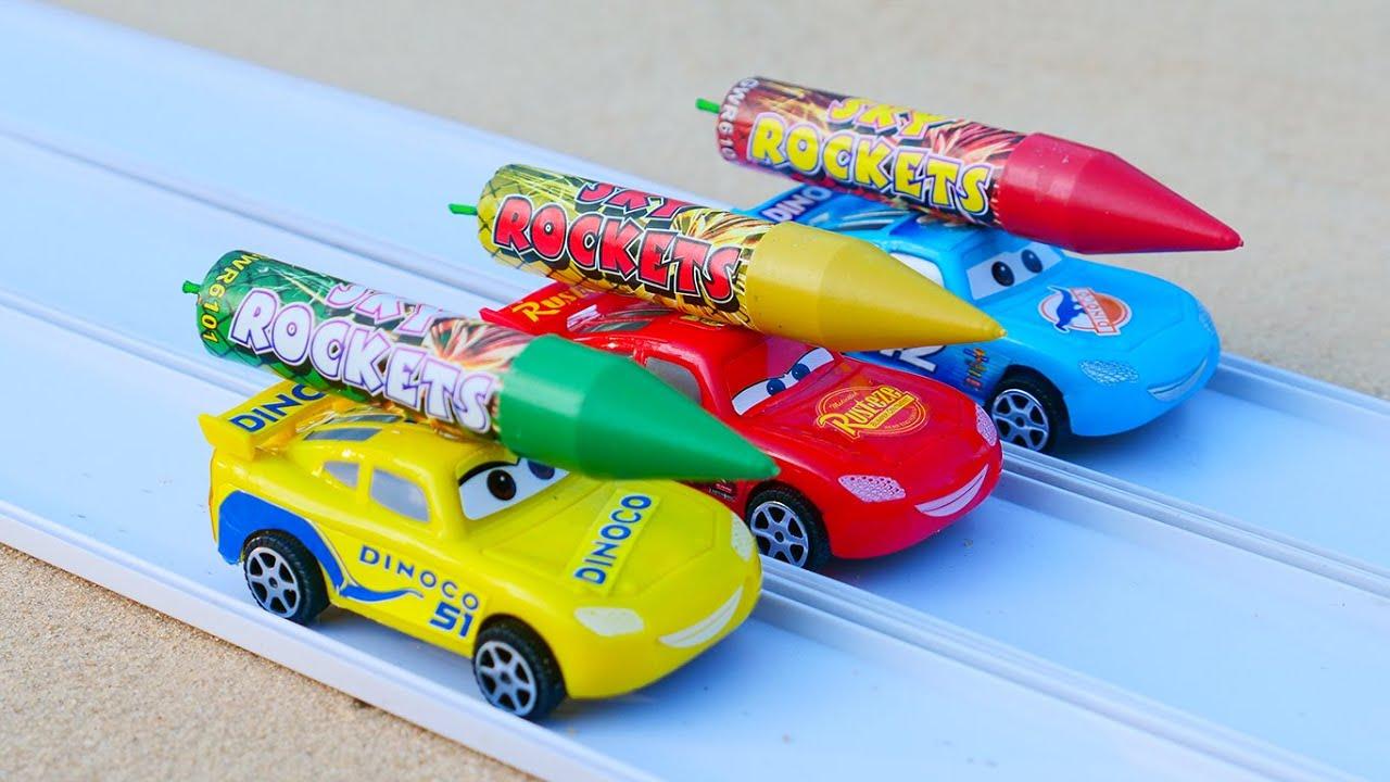 Rocket powered Disney Cars Toys