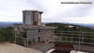 Abandoned Radar Base on East Mountain in Vermont