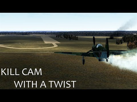 IL-2 Battle of Stalingrad : Kill cam with a twist