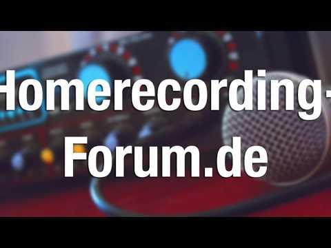 Yamaha MG 06 Mischpult Test 2017   Homerecording-Forum.de