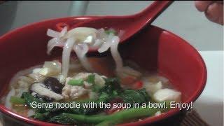 One Dish Meal 1: Mee Tai Mak, Loh Shi Fun 老鼠粉
